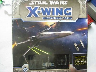 Star Wars X-Wing Miniature Game of Tactical Space Combat Force Awakens New