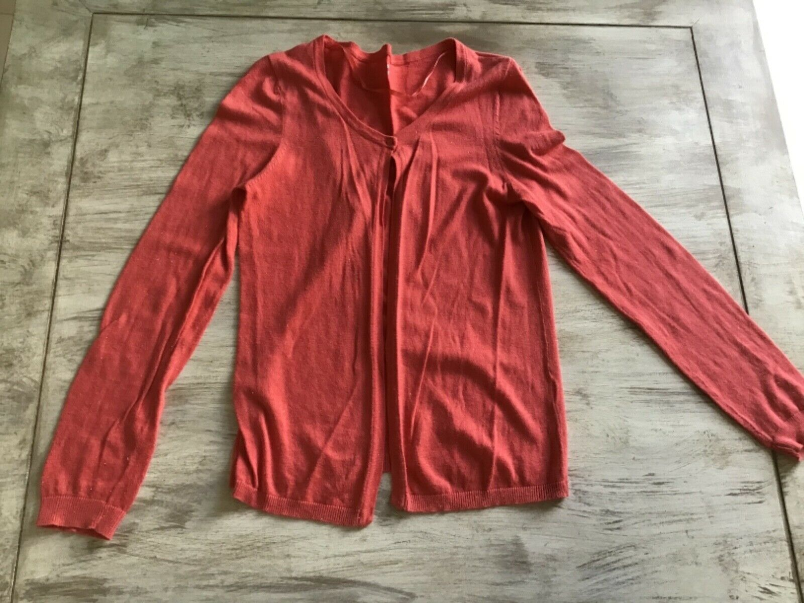 Gilet femme corail taille m