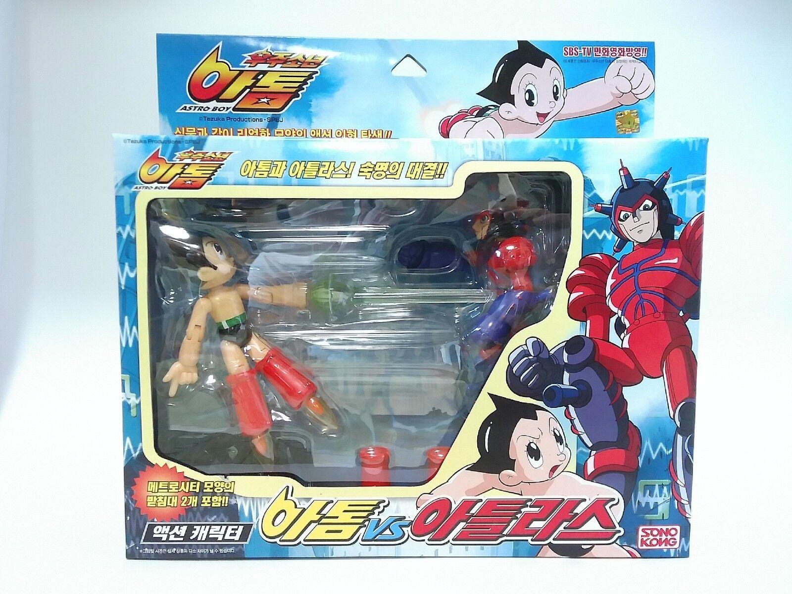 TAKARA TOMY 2003 Mighty ATOM ASTRO BOY vs ATLAS Action figures