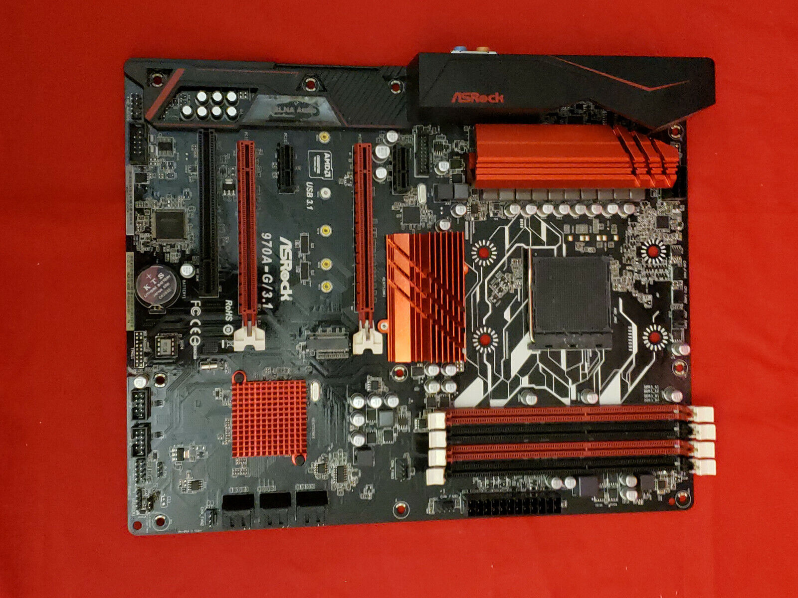 ASRock 970AG31 AM3 AMD Motherboard  - $67.00