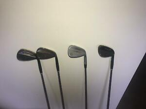 Cleveland Wedges & Titleist Gap wedge