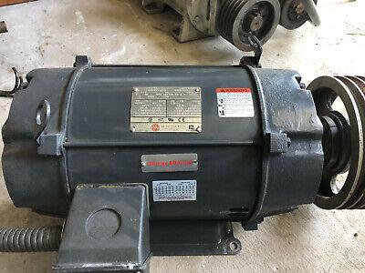 Us Electrical 15hp 1775 Rpm 3ph 230460v Electric Ac Motor 264t Frame Model Ae53