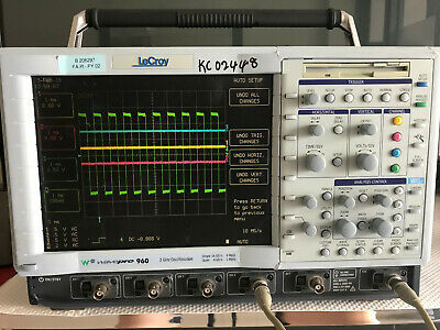 Lecroy Wavepro 960 Dso 2ghz 4-ch Digital Oscilloscope 16gss