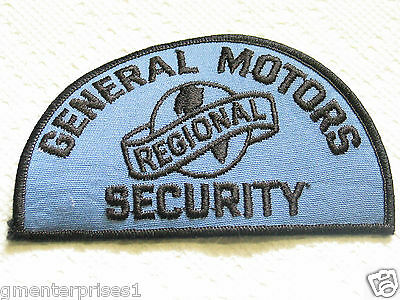 Vintage General Motors Plant Security Patch      33