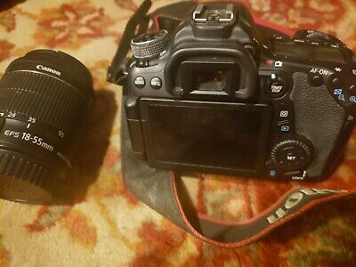 Canon EOS 70D 20.2MP DSLR ( w/ EF-S IS STM 18-55mm lens) Lightly Used