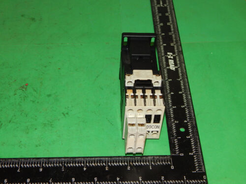 GE General Electric CL01D310T MOD. 1 Contactor With 2 Auxiliiary Contact Blocks