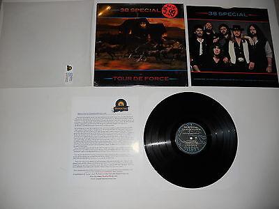 38 Special Tour de Force 1983 QUIEX 1st Press SP-4971 NM ULTRASONIC CLEAN