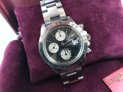 Tudor 79180 Big Block Chronograph Panda Dial Daytona