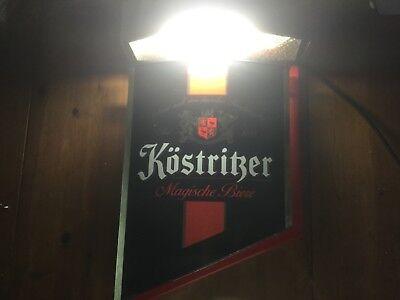 Leuchtreklame Werbung Köstritzer Schild Kneipe Bar Partykeller Bier alt rar- TOP