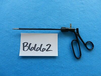 Padgett Surgical Laparoscopic Curved 5mm 16cm Roticulating Needleholder E1583