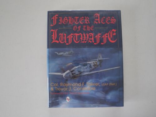 FIGHTER ACES OF THE LUFTWAFFE TOLIVER/CONSTABLE  SIGNED 2 GERMAN PILOTS MINT