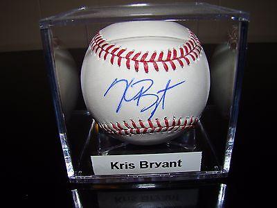 Kris Bryant Signed Autograph Baseball ROMLB PSA DNA COA Cubs
