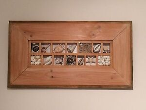 Wooden shell framed picture Mosman Mosman Area Preview