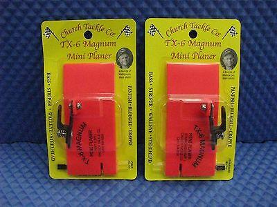 New Church Tackle Lock Jaw clip Planer Board 1Pk 40600