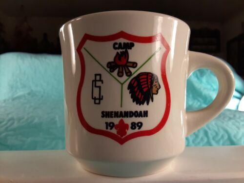 Vintage 1989 Camp Shenandoah Boy Scout Mug