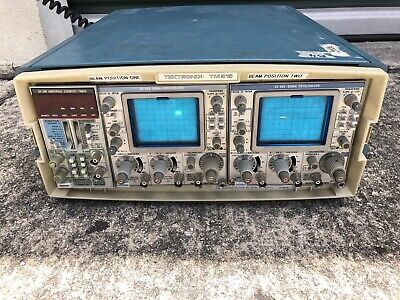 Tektronix Tm-515 Mainframe W 2 Sc-504 80mhz Oscilloscope Dc509 Counter