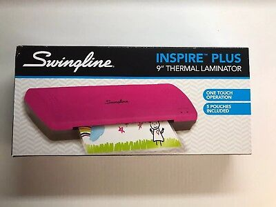 Nib Swingline Inspire Plus - 9 Thermal Pouch Laminator - One Touch Operation