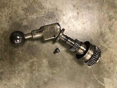 South Bend 10l Heavy 10 Metal Lathe Cam Style Apron Clutch