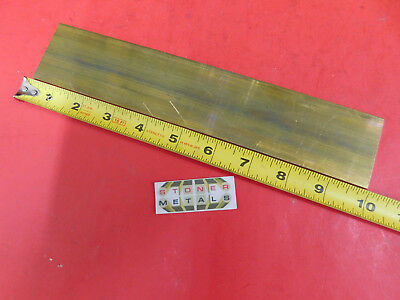 18 X 2 C360 Brass Flat Bar 10 Long Solid Plate Mill Stock H02 .125x 2.00