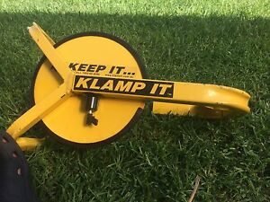 Trailer lock- Clamp It Keep It Flinders Shellharbour Area Preview