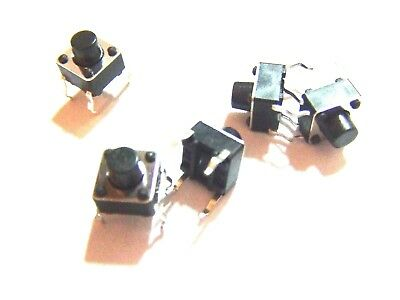 5x 6x6x7mm With 3mm Push Button Pcb Momentary Tactile Switch