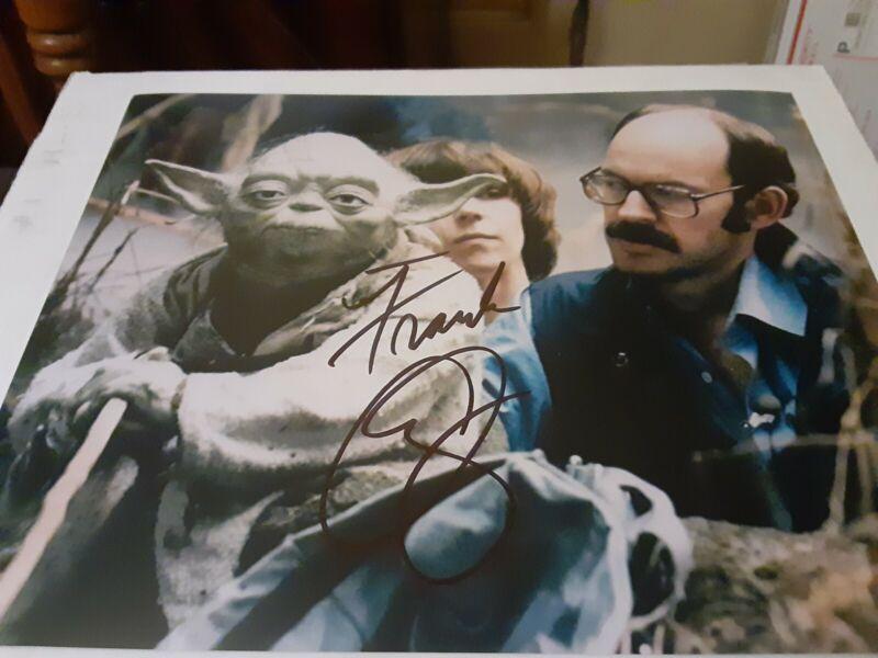 Frank Oz Yoda Puppeteer Star Wars Autograph 8x10 Original W/COA