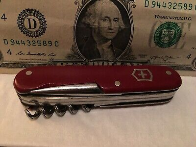 Rare Vintage Army Swiss Swiss Army Knife .