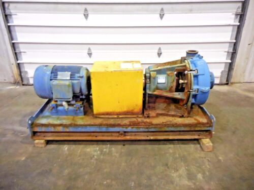 "RX-3634, METSO HM150 LHC-D 6"" x 4"" SLURRY PUMP W/ 25HP MOTOR AND FRAME"