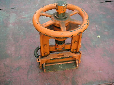 Diamond Drill Rock Core Splitter Vintage