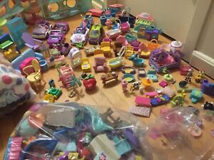 Little Pet  Shop Toys accessories. Over Two Hundred pieces