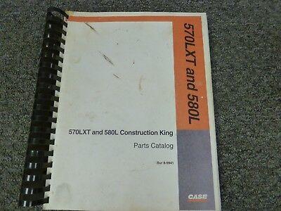 Case Construction King 570lxt Loader 580l Backhoe Parts Catalog Manual