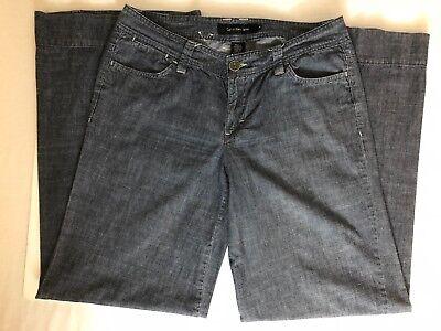 Calvin Klein Wide Leg Trouser Jeans Size 10 Calvin Klein Wide Leg Jeans