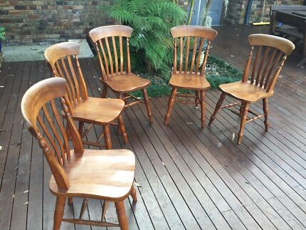 Dining chairs  Elanora Heights Pittwater Area Preview