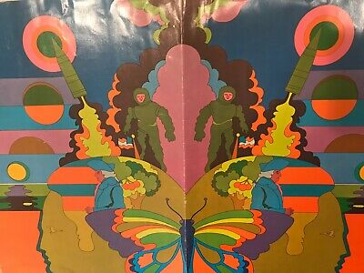 Peter Max/Burger King School Book Covers 1960's
