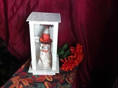 VINTAGE DEE FOUST for BETHANY LOWE HALLOWEEN QUEEN WITCH in ACRYLIC BOX NRFB