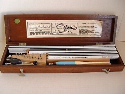 VINTAGE UNITECH DRAFTING LETTERING TOOLS KIT