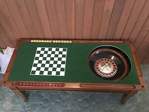 Cooper 5 in 1 games table