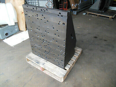 Cast Iron Angle Plate 32-12 X 25-12 X 15