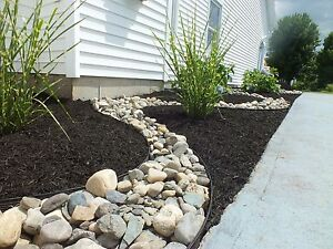 MULCH -We offer top quality mulch at 80$ a yard installed