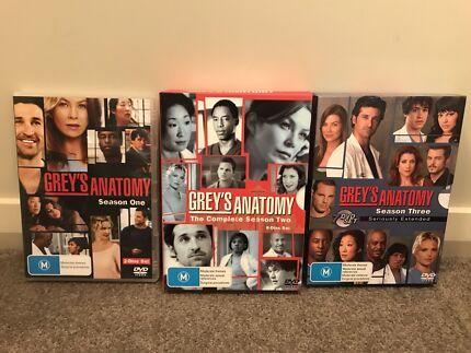 Greys Anatomy - Season 1 - 7 | CDs & DVDs | Gumtree Australia ...