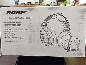 Nose Aviator headset
