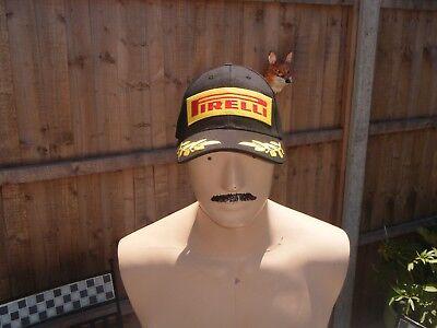 55ee6730 Genuine PIRELLI Motorsport F1 PODIUM baseball cap only REAL proper one on  EBAY!!
