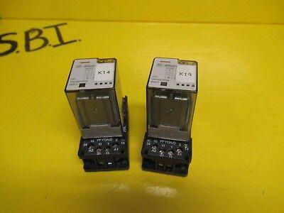 LOT OF 2 POTTER /& BRUMFIELD RELAY KRPA-14DN-24 24Vdc  11 PINS W//27E8892
