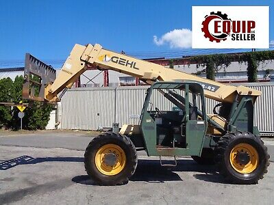 Gehl Rs842 8000 Lbs Telecopic Forklift