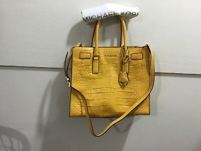 Michael Kors ladies textured leather adorable 2 strap purse