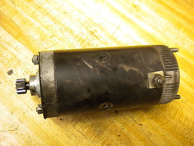 1979 AMF Harley Davidson XLH engine electric starter motor