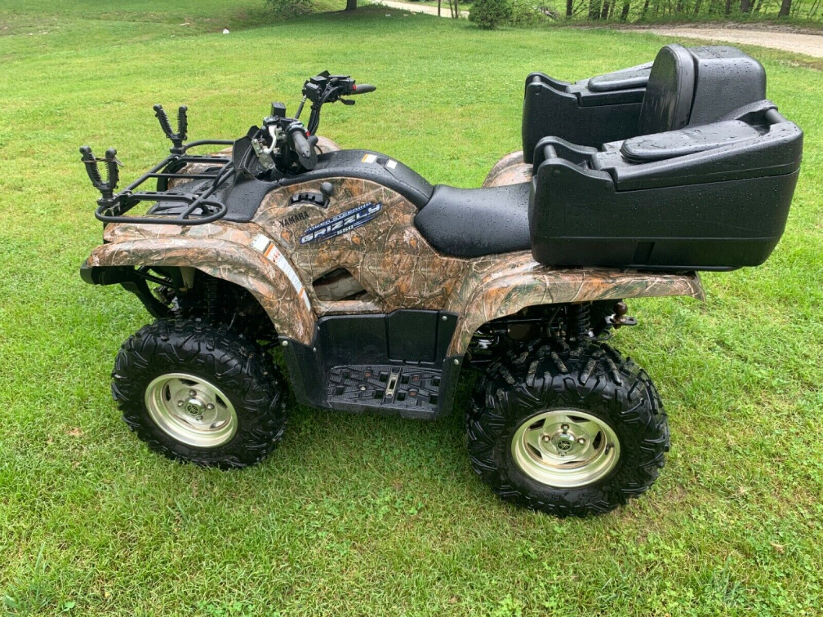 2011 Yamaha 550 Grizzlty EPS camo low miles NR