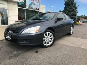 2006 Honda Accord EX V6, Clean Carproof, Low Kms