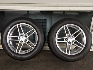 ZO6 WHEELS WITH ET STREET RADIAL TIRES