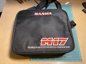 Sanwa/Airtronics universal Transmitter Bag with Shoulder Strap